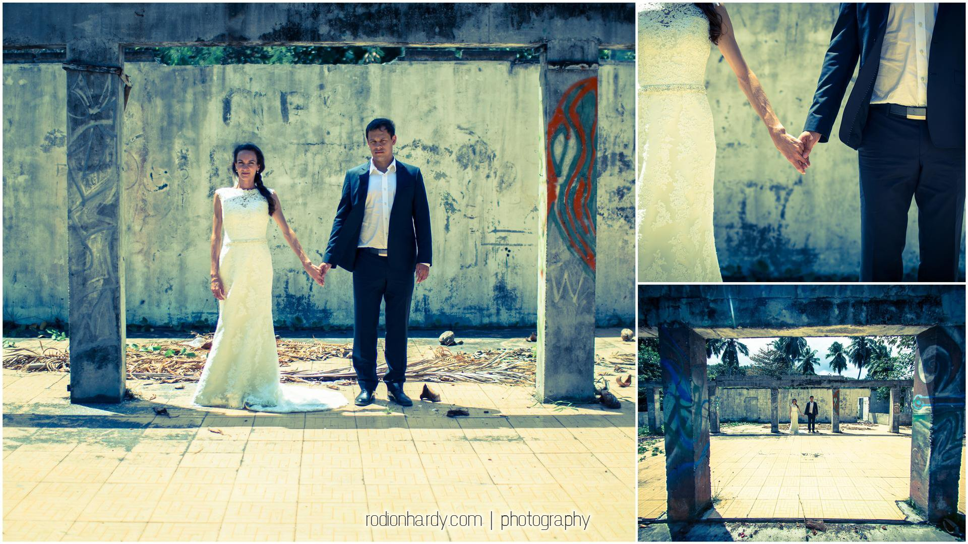 Shooting first wedding