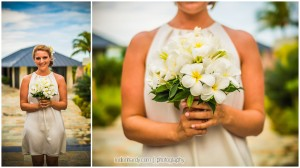 Wedding Ceremony at Raffles Resort, Praslin