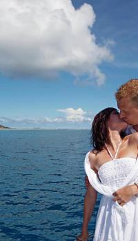 Hochzeit La Digue - Yacht