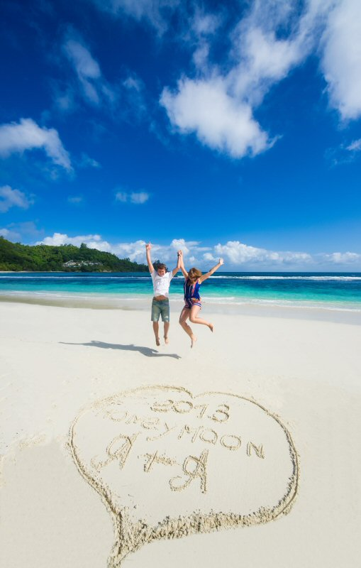 Seychelles Honeymooners July 2013